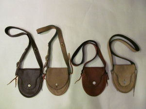 4 leather bags